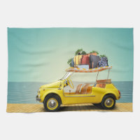 Travel, Golf Cart, Luggage Kitchen Towel