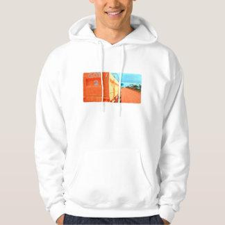 Travel got 2 travel blue rustic sky road ute hoodie