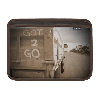 Travel got to go landscape dirt road sky MacBook sleeve