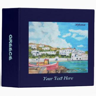 Travel Greece Binder