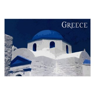 Travel Greece Poster