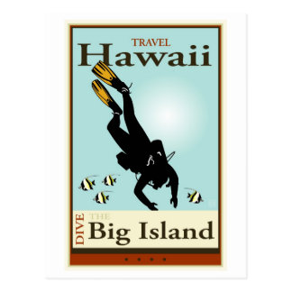 Travel Hawaii Postcard