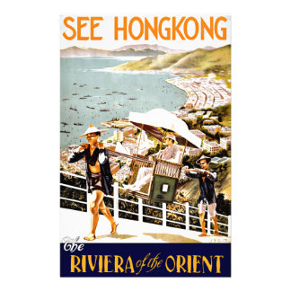 Travel Hong Kong Riviera Of The Orient Stationery