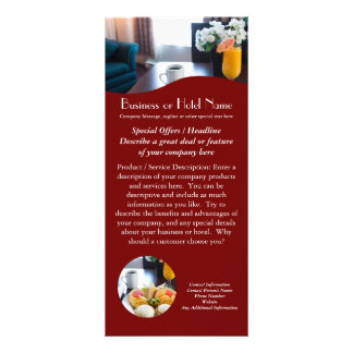 Travel, Hotel, Business Rack Cards