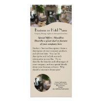 Travel, Hotel, Designer Rack Card Printing