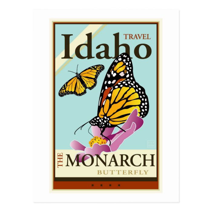 Travel Idaho Postcard