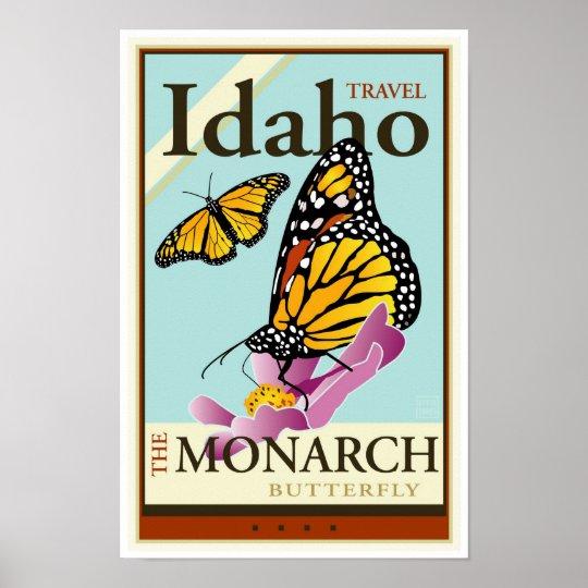 Travel Idaho Poster