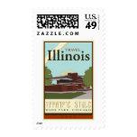 Travel Illinois Stamps