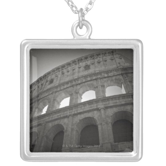 Travel images of Rome Silver Plated Necklace