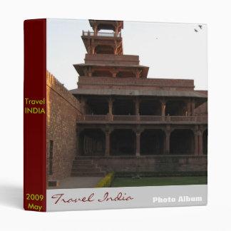 Travel India Binder