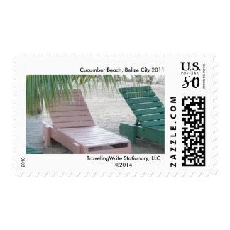 Travel-Inspired Postage Stamp