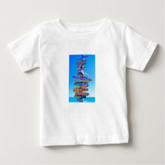 Travel is Everything Baby T-Shirt