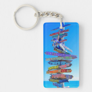 Travel is Everything Keychain