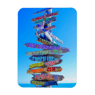 Travel is Everything Rectangle Magnet