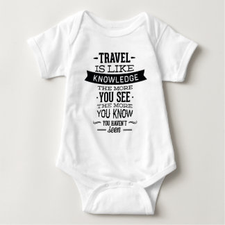 Travel Is Like Knowledge Shirt