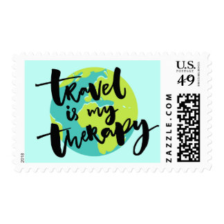 Travel is my Therapy Postage