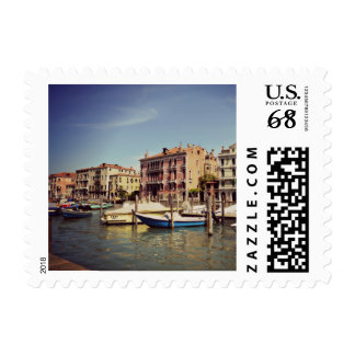 Travel Italy Venice Grand Canal History Postage