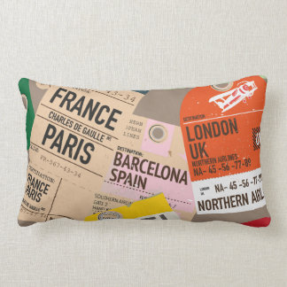 Travel Journal. Lumbar Pillow