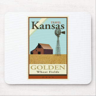 Travel Kansas Mouse Pad