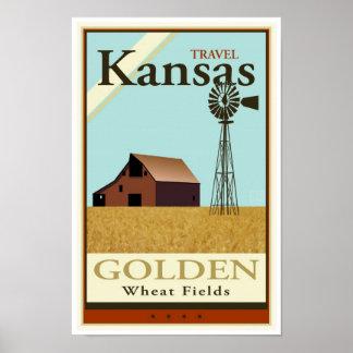 Travel Kansas Poster