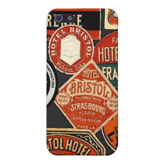 travel labels cases for iPhone 5