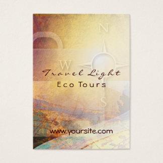 Travel Light Eco Tours Business Card
