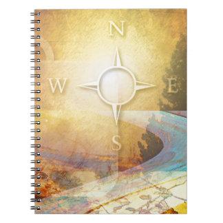Travel Light Vibrant Gold Spiral Notebooks