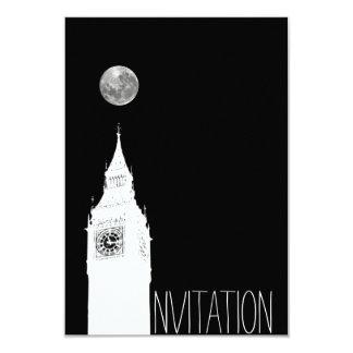 Travel London Invitation Card