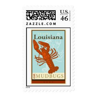 Travel Louisiana Stamp