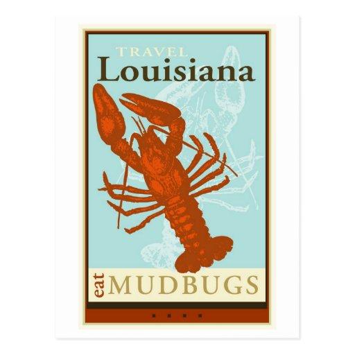 Travel Louisiana Postcards