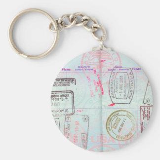 TRAVEL LOVER TRAVELLING PASS, TRAVELLER PASSPORT KEYCHAIN