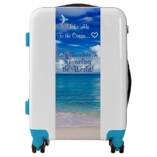 Travel Luggage | Blue Ocean