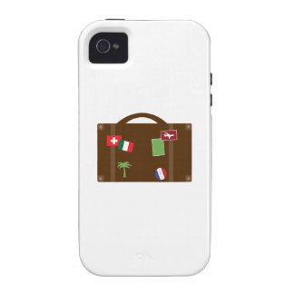 Travel Luggage iPhone 4/4S Cases