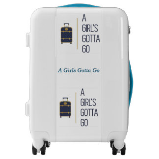 Travel Luggage Collection-A Girls Gotta Go