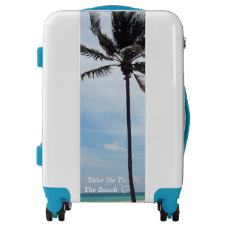 Travel Luggage Collection - Beach Palm Tree