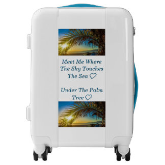 Travel Luggage Collection-Sky, Sea, Palmtree
