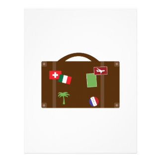 Travel Luggage Letterhead Template