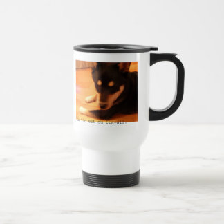 Travel magnet travel mug