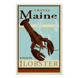 Travel Maine Poster