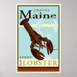 Travel Maine Poster