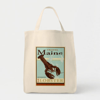 Travel Maine Tote Bag