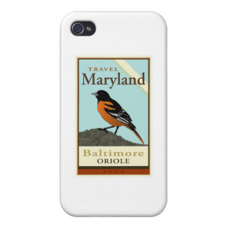 Travel Maryland iPhone 4 Case