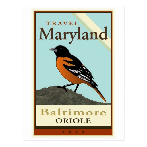 Travel Maryland Post Card