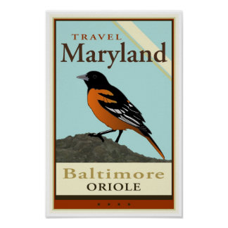 Travel Maryland Posters