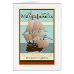 Travel Massachusetts Greeting Card