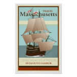 Travel Massachusetts Poster
