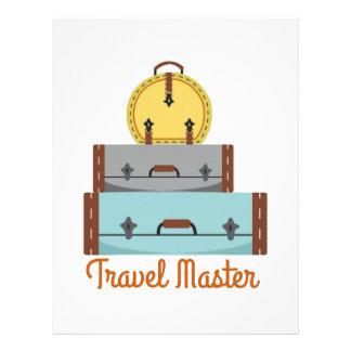 Travel Master Customized Letterhead