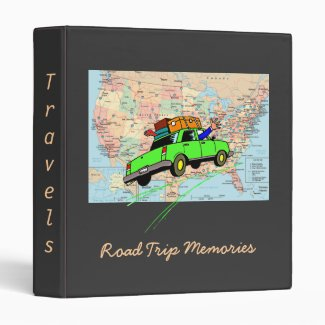 Travel Memories Binder (Black)