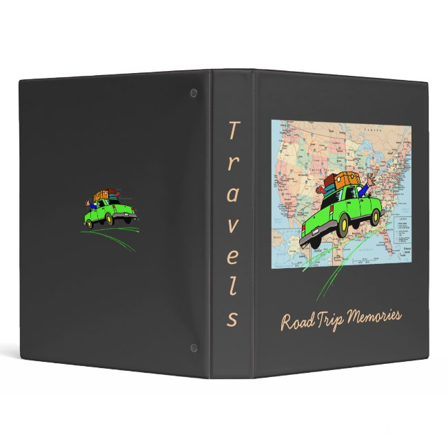 Travel Memories Binder (Black)