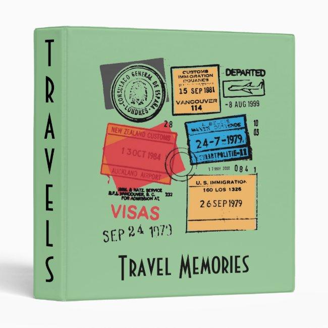 Travel Memories Design Binder